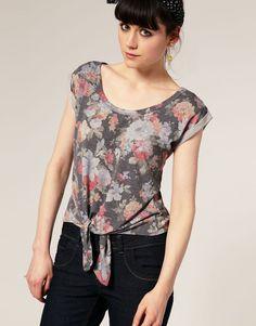 Good idea for redo-ing an oversized tshirt