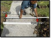 Irrigation Helps & Tutorials - How to Dig & Run Pipe Under Driveway or Sidewalk for Irrigation System Installation