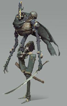 ArtStation - Leper knight, Mikhail Rakhmatullin