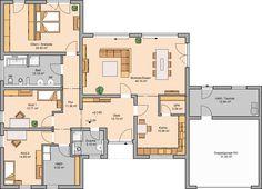 Häuser- Trio: Familienbungalow mit exklusiver Optik