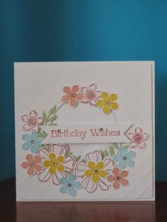 Stamping Granny - Angie: A spring card