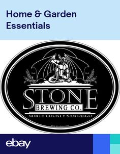 Stone Brewing Company Beer Alcohol Bumper sticker wall decor vinyl decal 5x4 0cbcee792