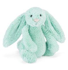Mint Bashful Bunny Stuffed Toy (Medium)