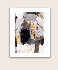 Art  Abstract  Painting  paintings on paper 7x10 by kuzennyArt, $20.00