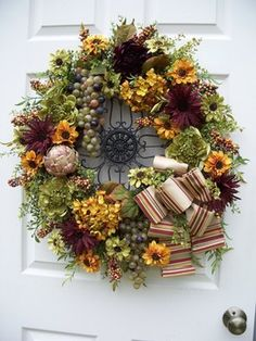 Wreath decor - traditional - holiday decorations - Timeless Floral Creations