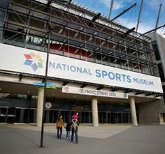 National Sports Museum entrance at Gate 3, Melbourne Cricket Ground.