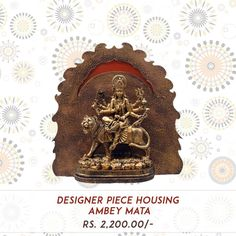 This Navratri Shop Beautiful Statue of Maa Ambey Happy Navratri to all of you! #Happy_Navratri, #Kraft_Hub, #MAA_Ambey_Idols