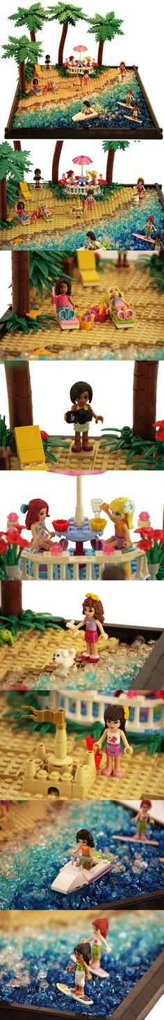 Lego Friends scene