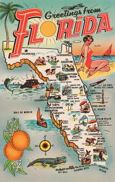 Vintage Usa Maps Vintage Postcards States Maps USA Wisconsin - State map of usa