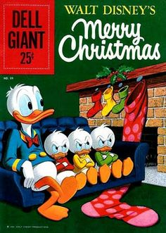 DONALD DUCK MERRY CHRISTMAS!