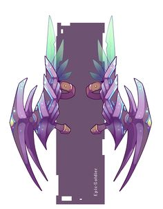 Weapon adopt 12 dual claws (OPEN!) by Epic-Soldier.deviantart.com on @DeviantArt
