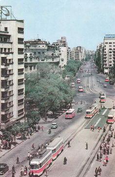 Pe când tramvaiul circula pe la Universitate! (anii '60)