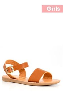 28acd6ec97d Soda+Shoes+Big+Boss+Band+and+Ankle+Strap+Sandals+for+Girls+in+Tan+ ...