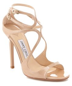 Jimmy Choo Lance 115 Patent Leather Sandal