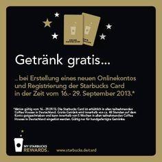 Kostenloses Freigetränk mit Starbucks Karte (auch aus der Groupon-Aktion) - myDealZ.de