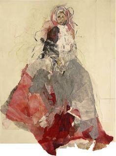 "Saatchi Art Artist Ute Rathmann; Drawing, ""Hommage à Goya XVI"" #art"