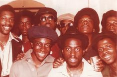 Enterprise Imperial HiFi and friends, circa 1977. Founded in 1975, Enterprise became one of Bristol's most popular sound systems.