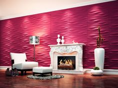 Inreda | Placas Decorativas 3D | Pastilhart Revestimentos Ltda