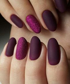 20+ Stunning Purple Nail Art Designs For Wedding