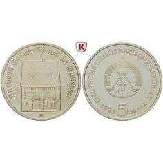 DDR, 5 Mark 1983, Luthers Geburtshaus, st, J. 1590: Kupfer-Nickel-5 Mark 1983. Luthers Geburtshaus. J. 1590; stempelfrisch 12,00€ #coins