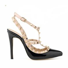 8fa3527f43f3 iPretty Women Ladies Sexy High Heels Pointed Toe Pumps Stiletto Sandal  Court Party Shoes  Amazon.co.uk  Shoes   Bags