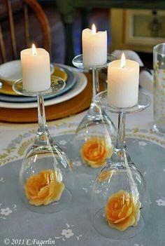 Deralles para una cena romantica o un cumpleños..