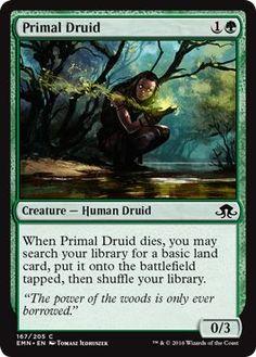 Magic: the Gathering - Primal Druid (167/205) - Eldritch Moon