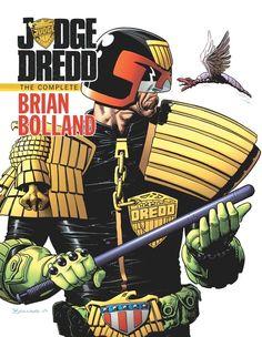 Judge Dredd: The Complete Brian Bolland HC