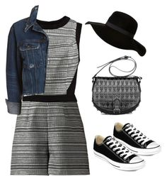 """""""#13"""" by tash005 ❤ liked on Polyvore featuring rag & bone/JEAN, Retrò and Converse"""