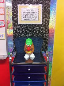 Fancy Free in Fourth: My Mr. Potato Head Whole Class Management