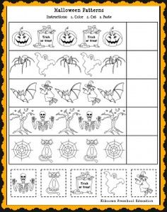 halloween song and free printable halloween math worksheet for kids turn this into a form lesson - Online Halloween Math Games