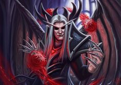 Blood King Kael'Thas Sunstrider by Galder on DeviantArt Fantasy Demon, Blood Elf, Heroes Of The Storm, Breath In Breath Out, Starcraft, Iconic Characters, Fun At Work, The Covenant, World Of Warcraft