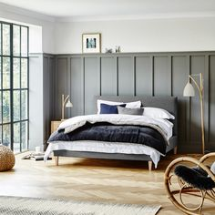 Stock Cameron Bedstead | Feather & Black