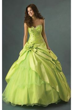 Modest Floor-length Organza Ball Gown Sleeveless Sweetheart Wedding Dresses