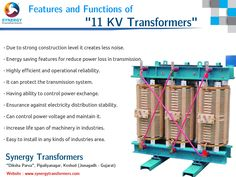 Featured functions and features of 11KV transformers