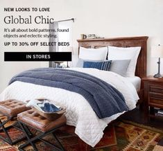 Image result for pottery barn bold patterns found objects