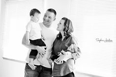 At-home family portrait session by Sophia Jordan Photography    Fairbanks, Alaska. Try your next family pictures in your home!