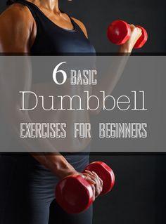 6 Basic Dumbbell Exercises for Weight Training Beginners