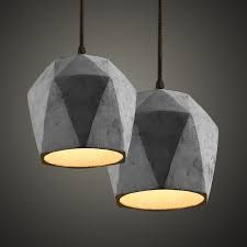 New arrival led pendant lamp art lighting creative design modern brief style retro living room bedroom dining room cement lamp _ {categoryName} - AliExpress Mobile Retro Living Rooms, Living Room Bedroom, Restaurant Bar, Pendant Lamp, Pendant Lighting, Creative Design, Modern Design, Beton Design, Concrete Crafts