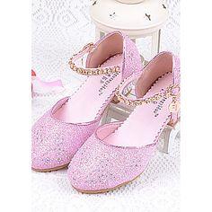 759fd95d6b9 Girls  Shoes Glitter Summer Comfort Heels Sparkling Glitter for Casual  Silver Blue Pink - AUD