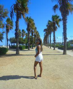 Playa malvarossa. Valencia
