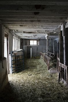 Barn smells...a mixture of smells.  Not the best aroma, but wouldn't trade my upbringing on the farm for anything.