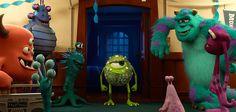 Wenn du schon jemanden reinlegst, könntest du dir wenigstens etwas Schlaueres ausdenken...! #DieMonsterUni ©Disney•Pixar