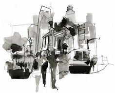 Urban Sketchers: Greg Betza
