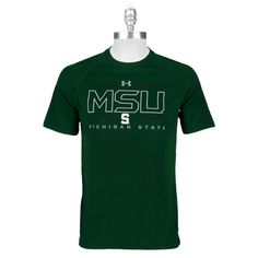 Under Armour® Men's Contemporary Michigan State University HeatGear® Tech Tee #VonMaur