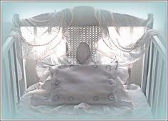 Antique crib