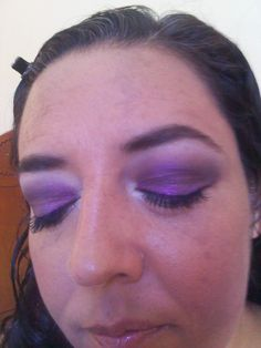 """Look con pigmentos """"Glam Eyez"""""""