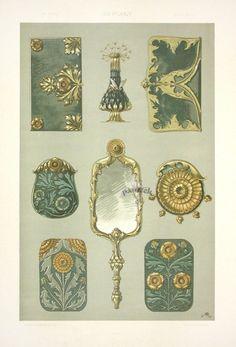 Anton Seder Art Nouveau Embellishments, 1890 ~ tatasha