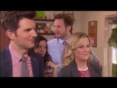 Amy Poehler Breaking Character on PnR - YouTube
