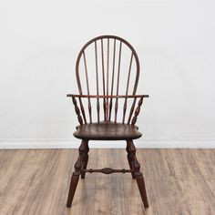 From Loveseat Vintage Furniture San Diego U0026 Los Angeles · This Windsor  Chair Is Featured In A Solid Wood With A Raw Dark Wood Finish.